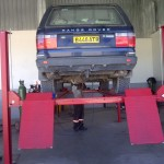 Range Rover On The Ramps