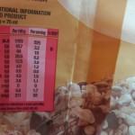Bokomo Nature's Source African Sunrise muesli crunch nutritional information.
