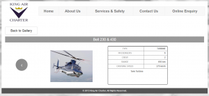 Bell 230 & 430 range and speed