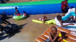 Slip n Slide Gaborone Reality