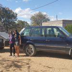 Range Rover P38 glamping trip.