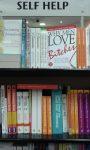 Self Help bookshelf